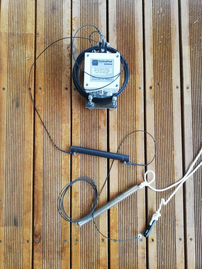 HyEndFed 5-band MK3 antenna