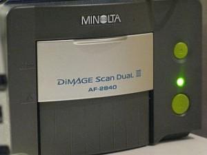 Minolta Dimage Scan Dual III AF-2840