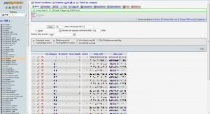 Prestashop table ps_category in phpmyadmin